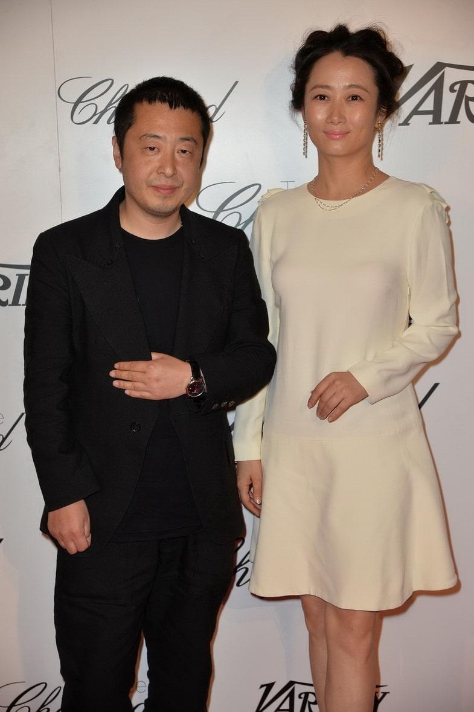 Jia_Zhangke_and_Zhao_Tao_in_Chopard