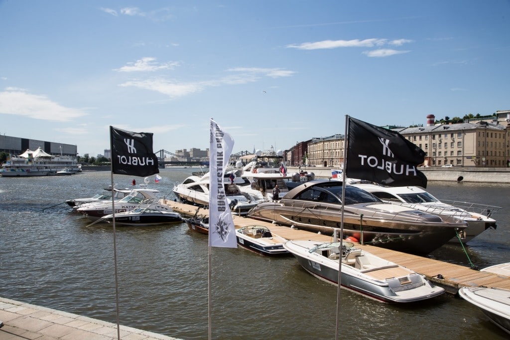 Hublot powerboat 2016 Moscow