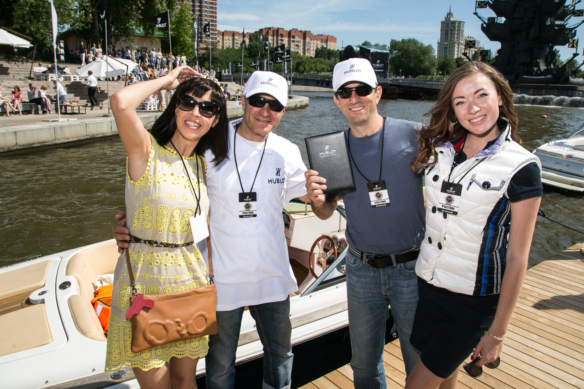 Hublot powerboat 2015 Moscow - The Winners