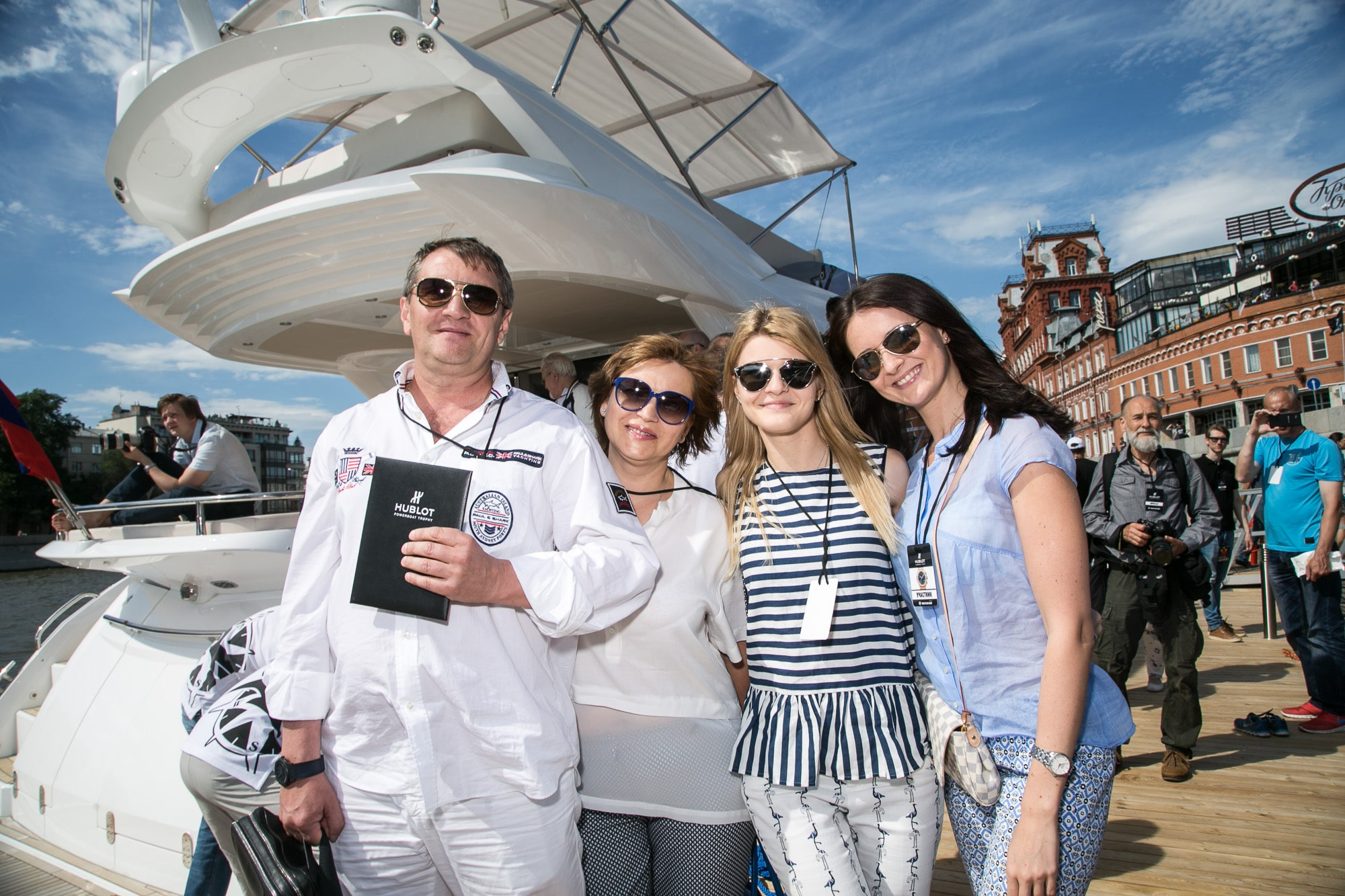 Hublot powerboat 2015 Moscow