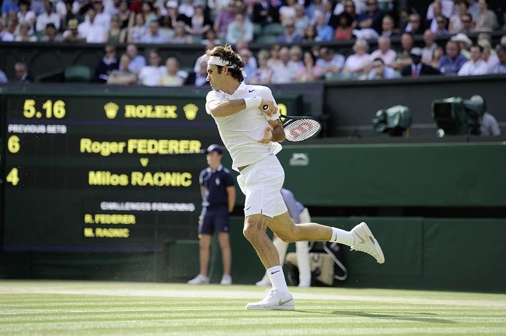 Semi - final - Roger Federer