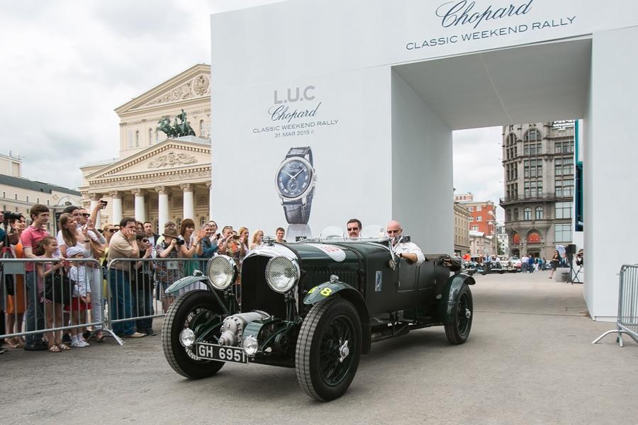 Bentley Blower отметивший своё 85 летие