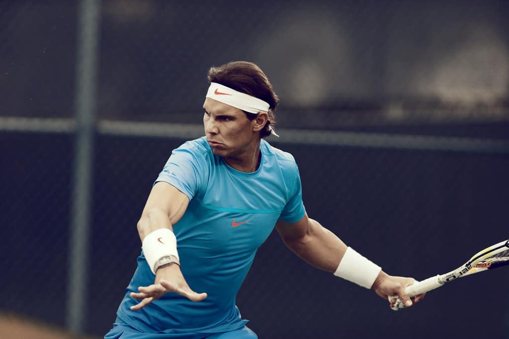 Rafael Nadal в форме Nike