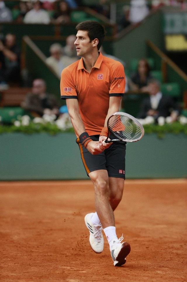 Первая ракетка мира Novak Djokovic форма Uniqlo
