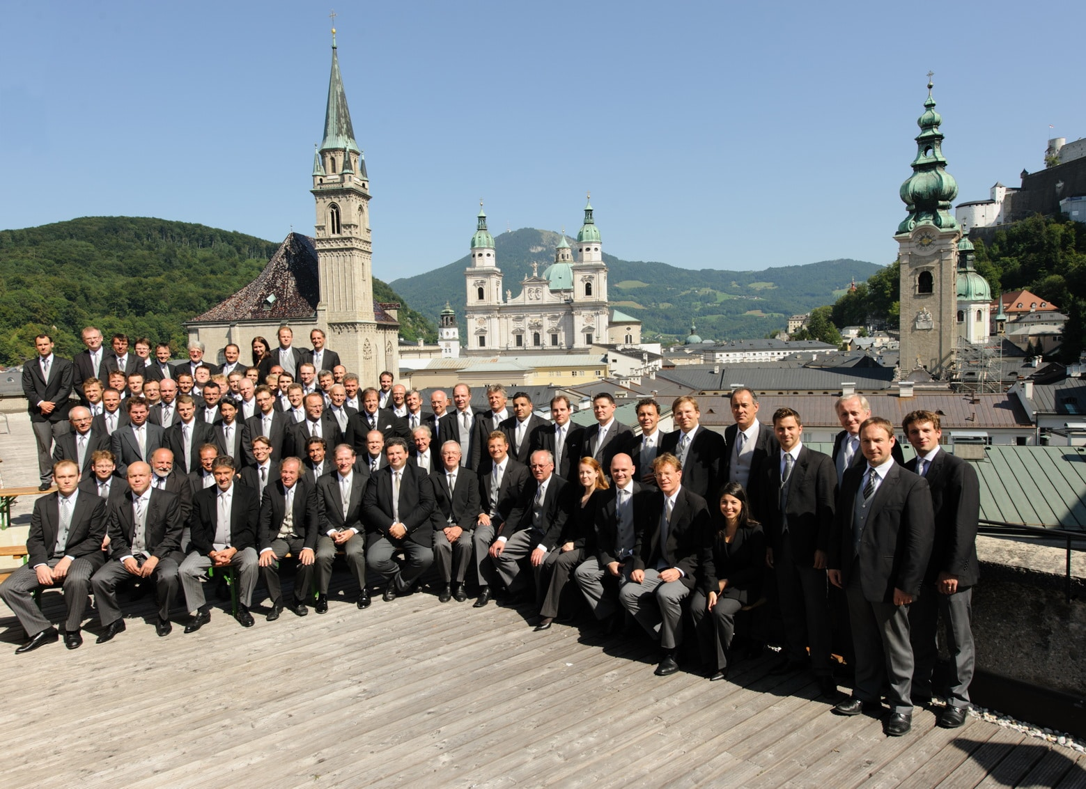 The Vienna Philharmonic Orchestra in Salzburg