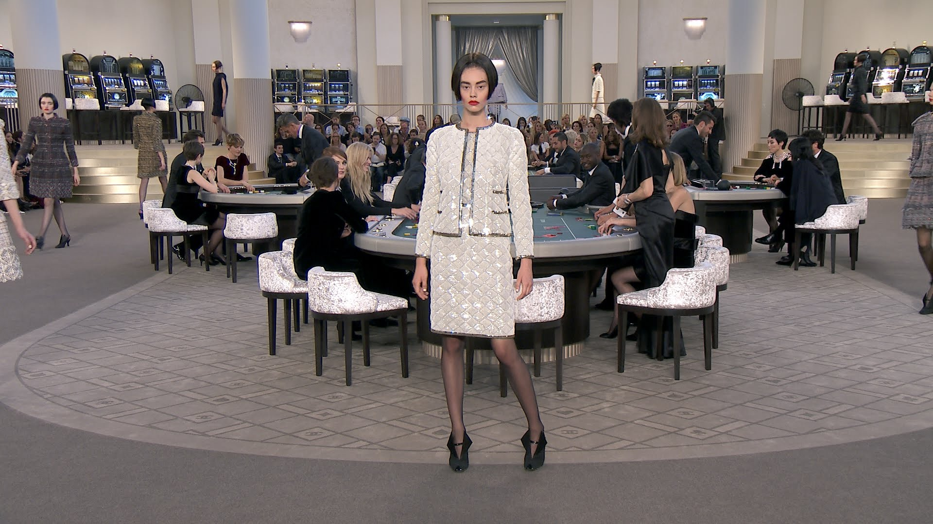 Chanel fashion show grand palais 53