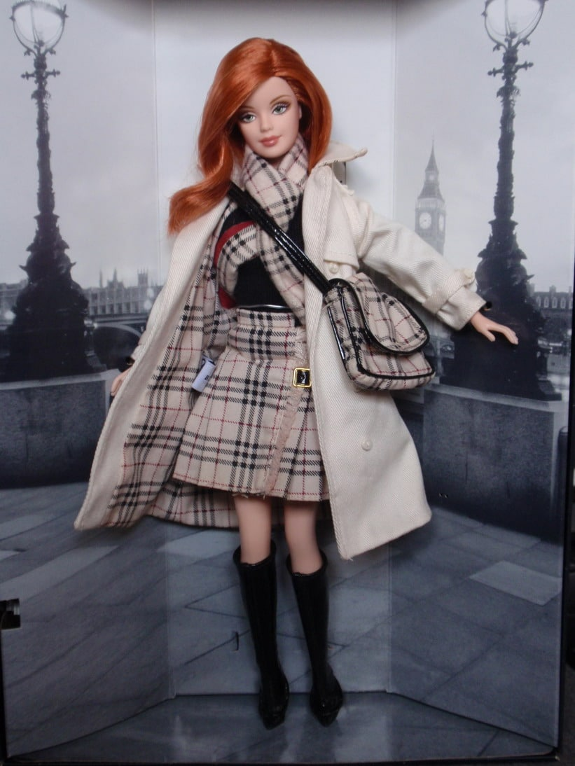 Barbie Burberry