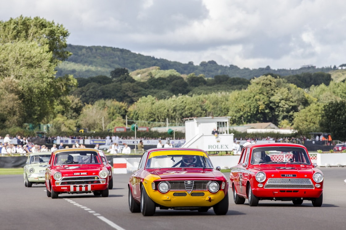 33 – 1965 – Alfa Romeo 1600 GTA, Entrant: David Fitzsimons, Driver (s): Frank Stippler – St Mary's Trophy Part 1 77 – 1965 – Ford-Lotus Cortina Mk1, Entrant: Andrew Jordan, Driver (s): Andrew Jordan – St Mary's Trophy Part 1 18 – 1965 – Isuzu Bellett, Entrant: Mark Bevington, Driver (s):  unkown driver – St Mary's Trophy Part 1 St Mary's Trophy