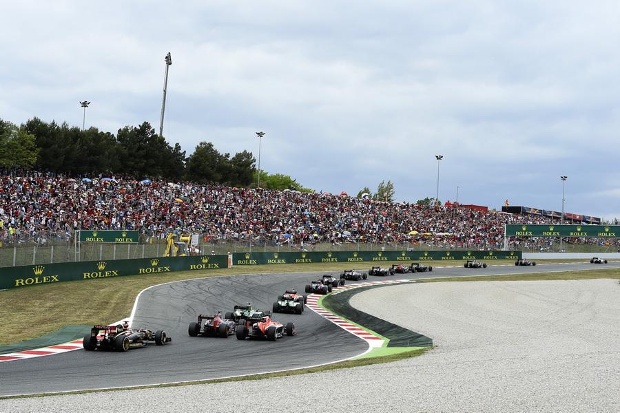 Race.  Pastor Maldonado (VEN), Lotus F1 Team.  Jean-Eric Vergne (FRA) Scuderia Toro Rosso.  Max Chilton (GB), Marussia F1 Team.  Marcus Ericsson (SWE) Caterham F1 Team.