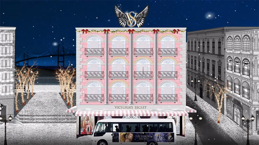 Victoria's Secret Angels Sing 12 Days of Christmas