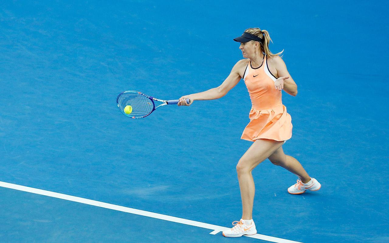 Maria Sharapova на Australian Open 2016 в форме Nike