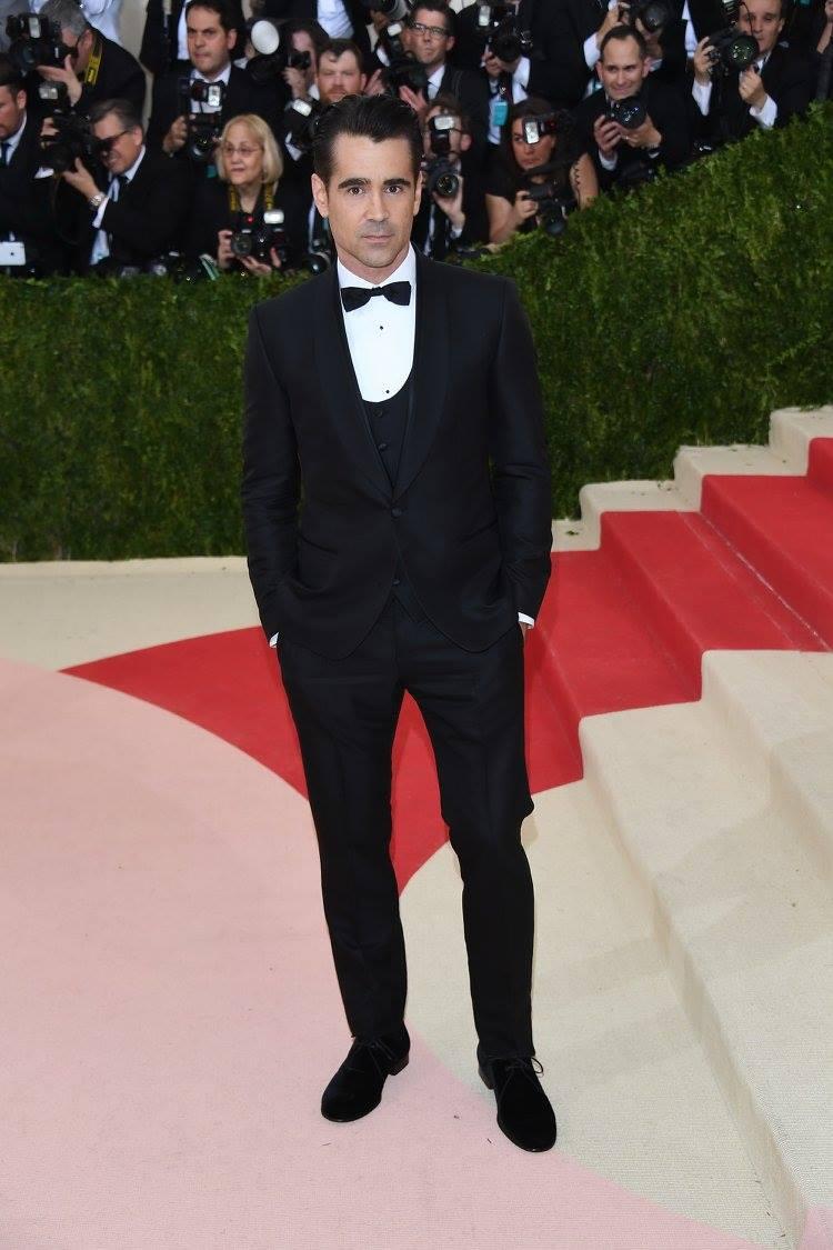 Colin Farrell в костюме Dolce&Gabbana