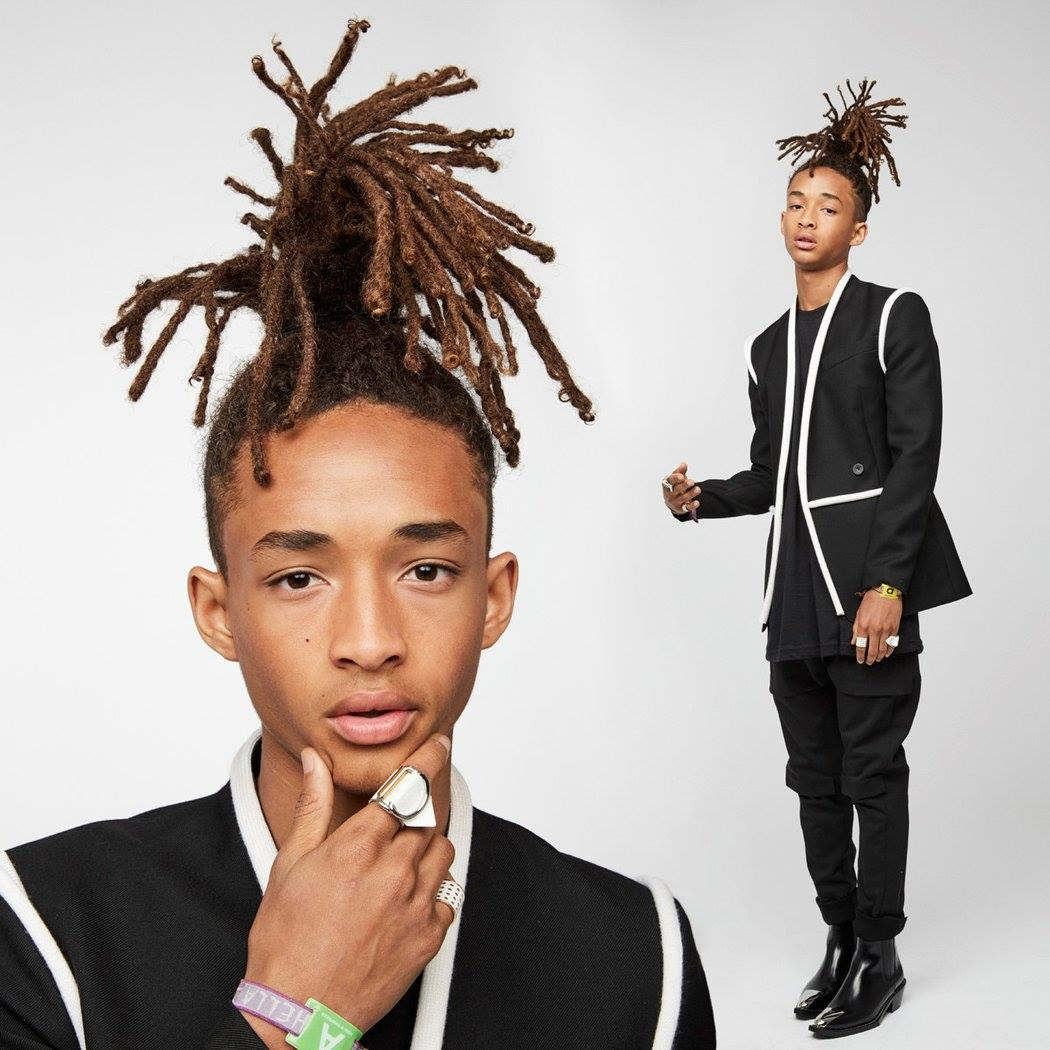 Jaden Smith на Met Gala 2016 / Louis Vuitton