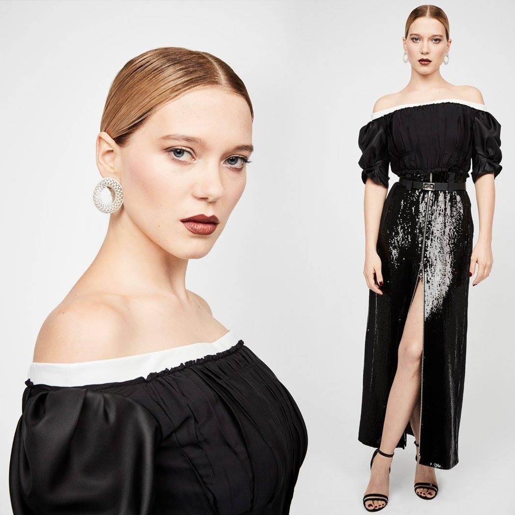 Léa Seydoux в наряде Louis Vuitton