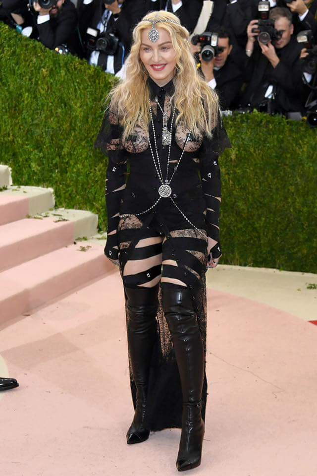 Madonna in Givenchy at the Met Gala 2016