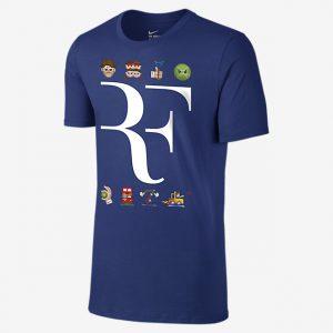 Roland Garros 2016 - Federer - NIKE COURTT-Shirt