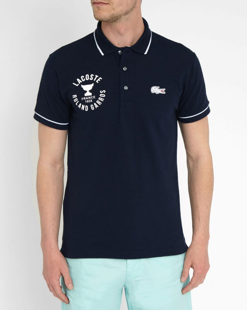 Form on Roland Garros 2016 from Lacoste