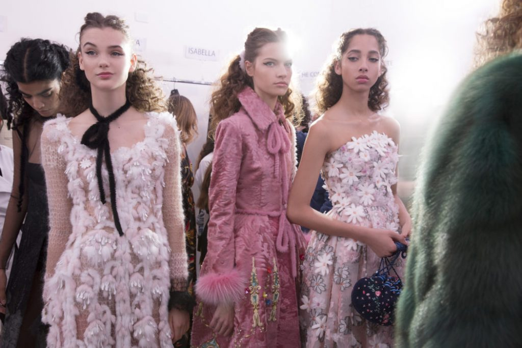 Fendi 90 years show LEGENDS and FAIRY TALES