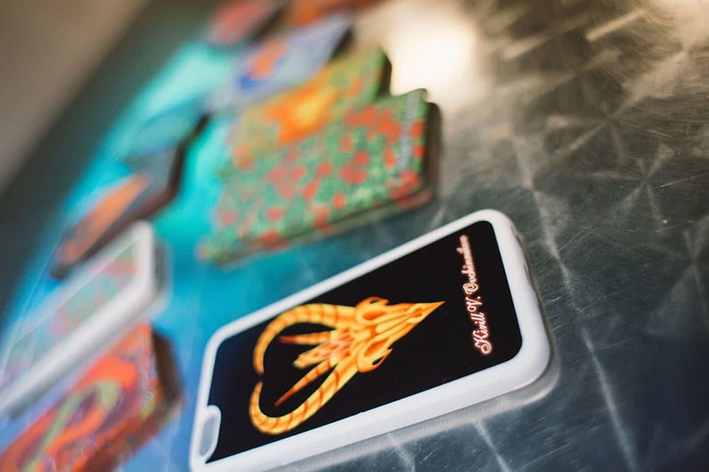 Kirill Ovchinnikov phone case