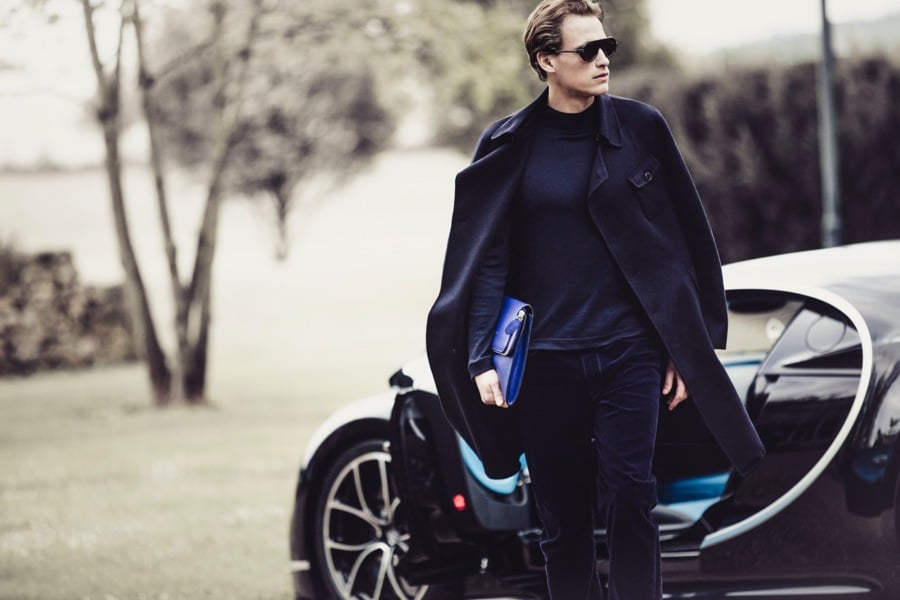 Giorgio Armani - capsule collection for Bugatti