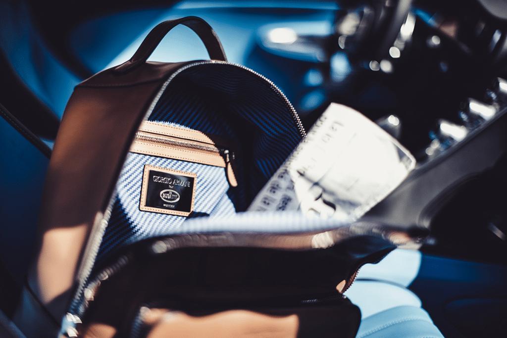 Giorgio Armani - capsule collection for Bugatti