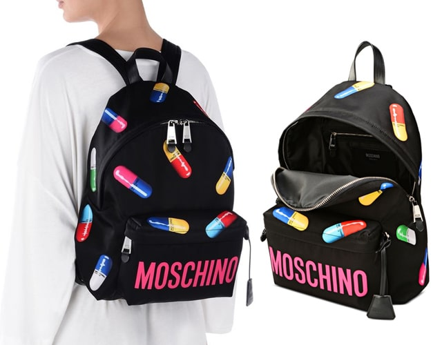 Moschino Capsule Collection SS17 Backpack
