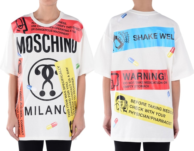 Moschino Capsule Collection SS17 T-Shirt