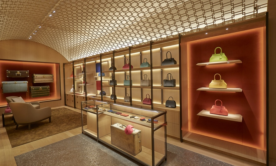 Moynat Paris Boutique Interior