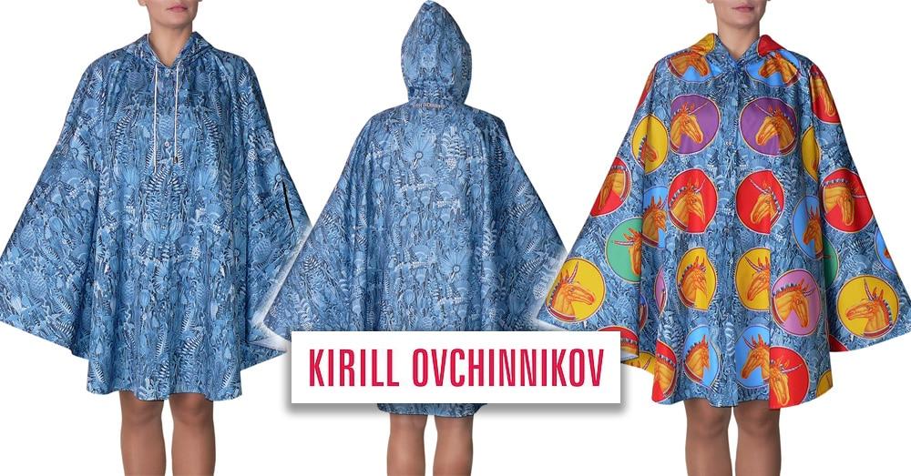 Коллекция дождевиков Kirill Ovchinnikov CITY