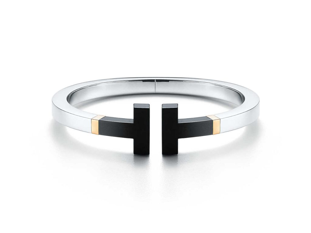 Tiffany & Co. - Square Bracelet / Black Ceramic
