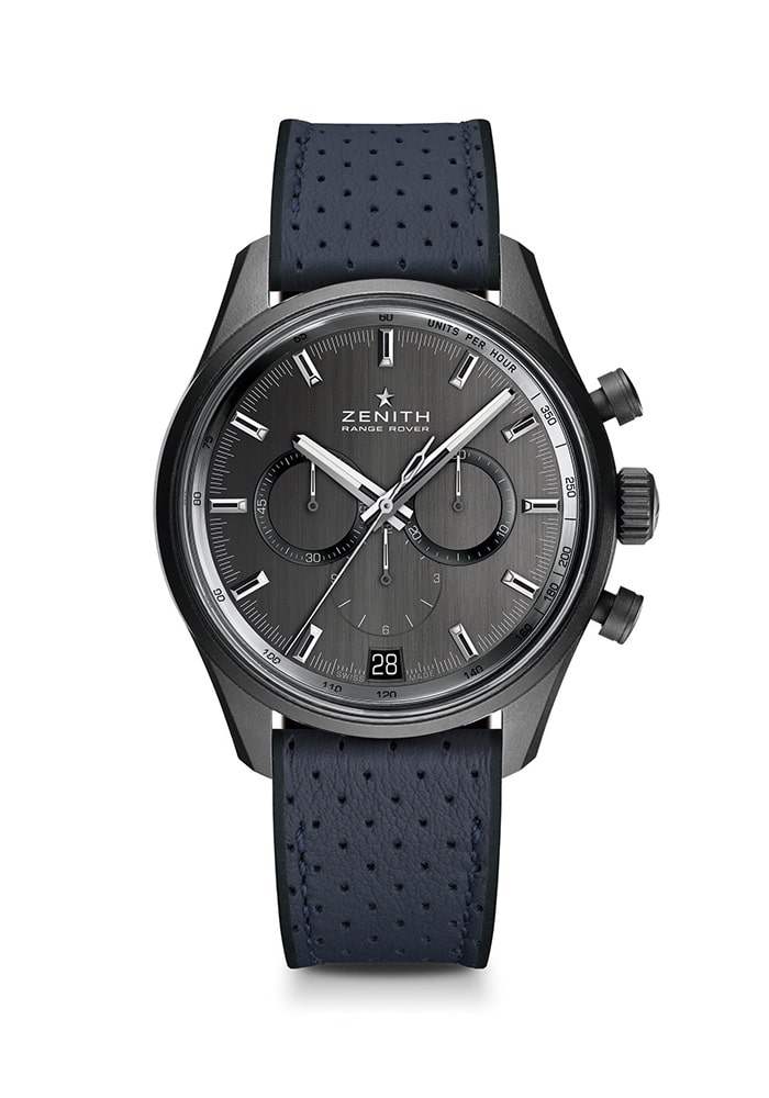 Zenith and Range Rover / Watches