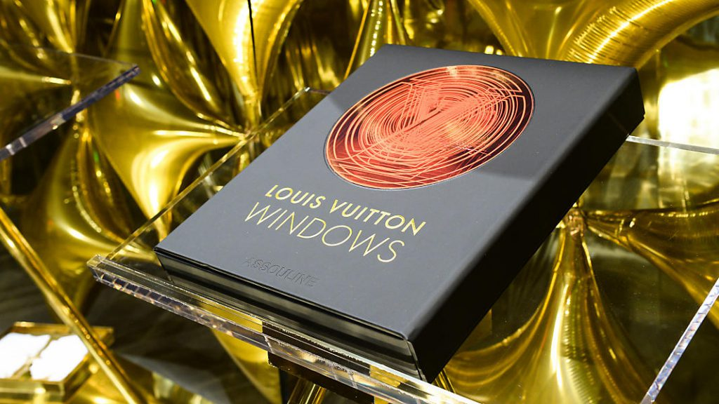 Louis Vuitton Window Display - All in One Book