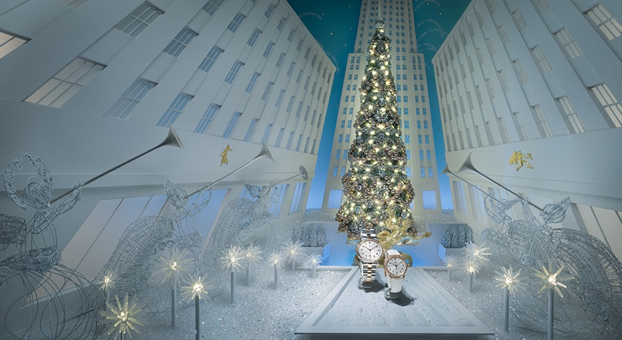 Rockefeller Center, Tiffany & Co. 2016 Holiday Windows