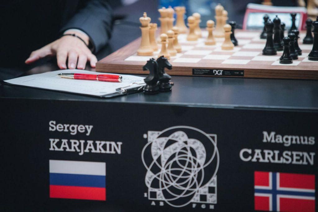 Dupont на чемпионате мира по шахматам 2016