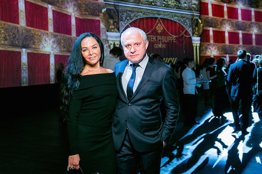 Patek Philippe Миранда Мирианашвили и Леонид Огарев