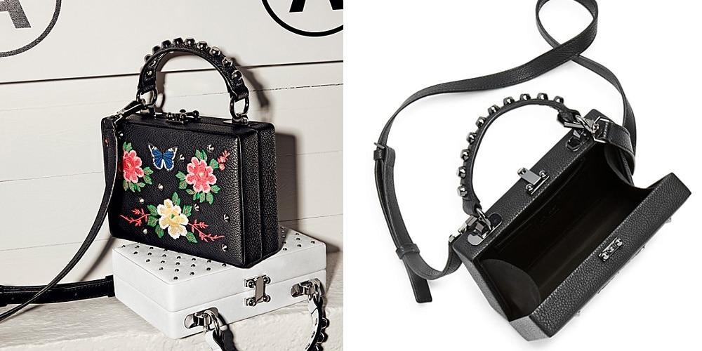 Nasty Gal - Girl Boxx Trunk Floral Crossbody