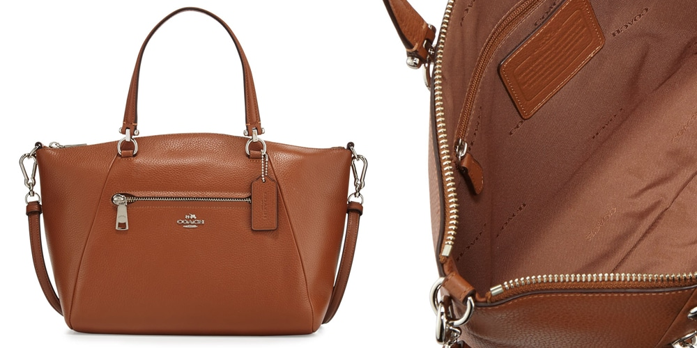 Coach Prairie Leather Satchel Bag