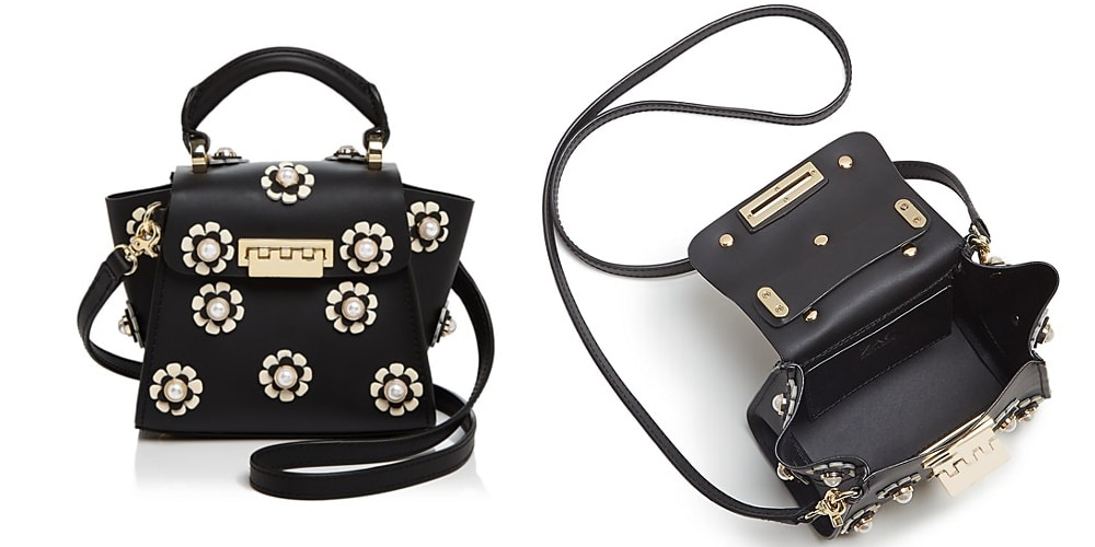 ZAC Zac Posen Mini leather crossbody