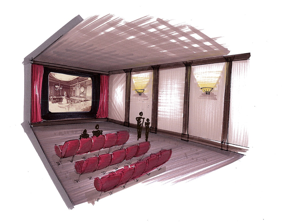 Patek Philippe - NYC Exhibition - Movie theater