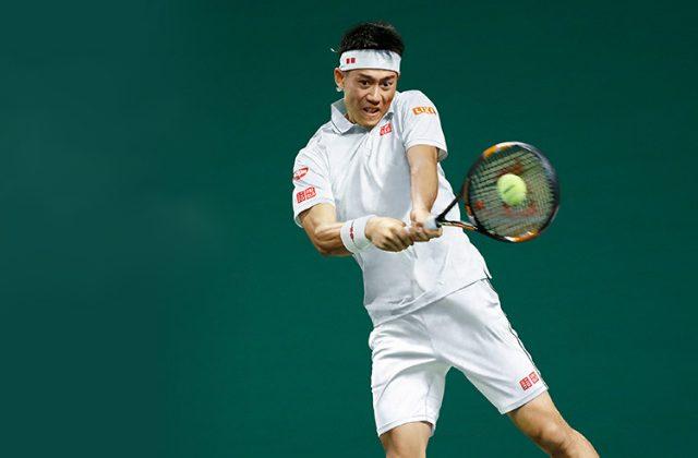 Wimbledon - Kei Nishikori