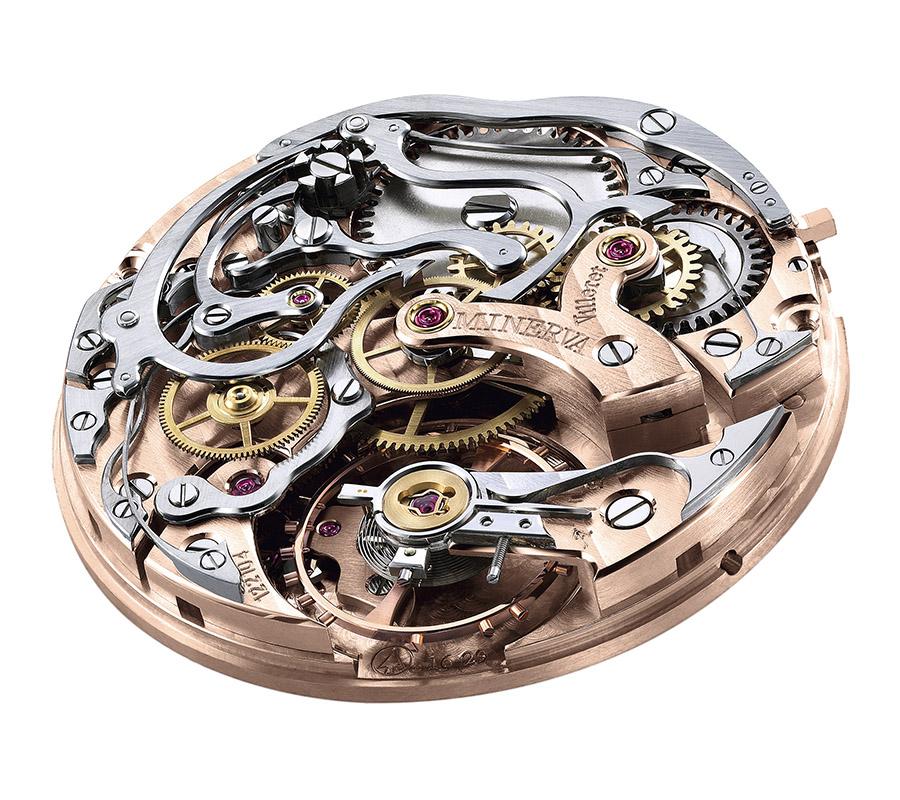 Montblanc 1858 Chronograph Tachymeter Unique Piece
