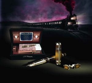 S.T.Dupont Limited Edition Murder on the Orient Express