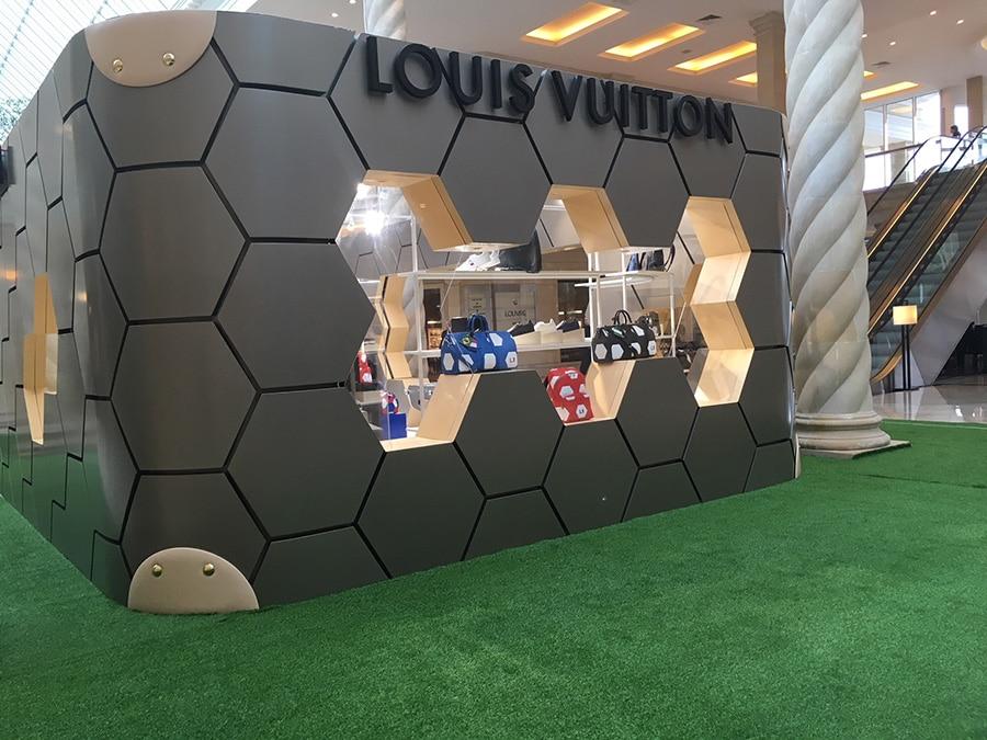 Louis Vuitton - FIFA Popup store - Crocus City Mall