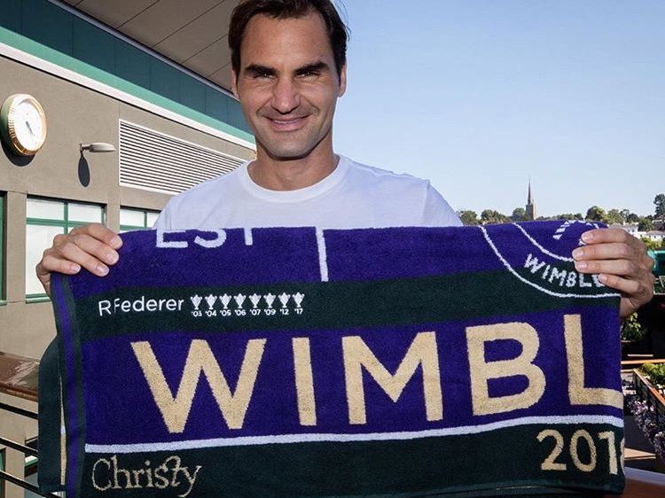 Roger Federer - Special Wimbledon 2018 Towel