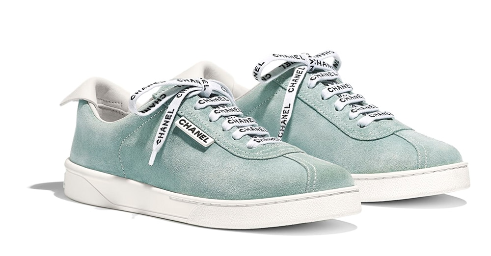 Chanel Sneakers from Cruise Collection 18-19, blue