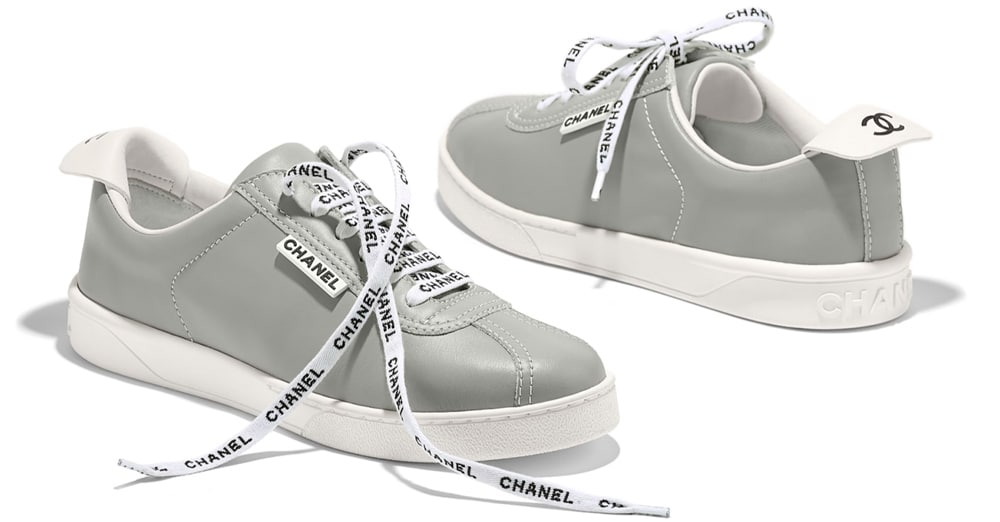 Chanel Sneakers from Cruise Collection 18-19, gray
