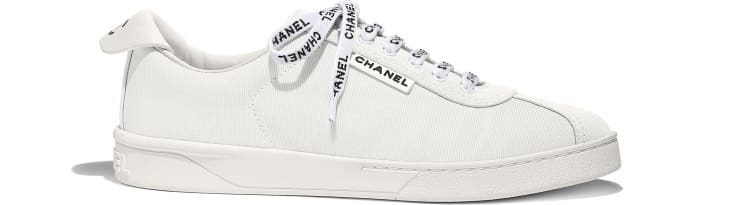 Chanel Sneakers from Cruise Collection 18-19, white
