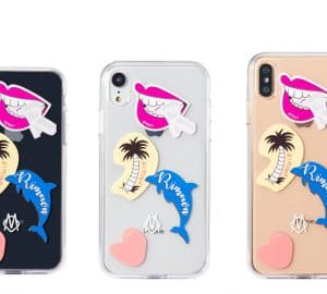 Transparent Stickers iPhone Cases by Rimowa