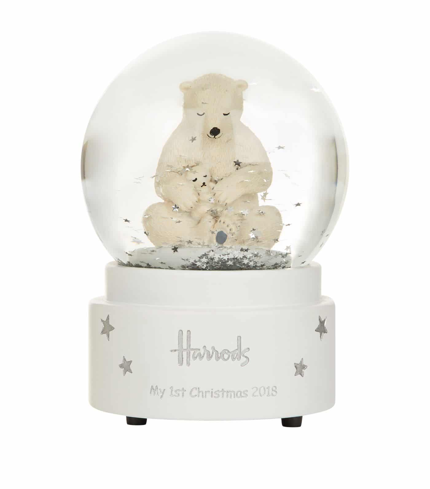 Harrods — My First Christmas — Snow Globe