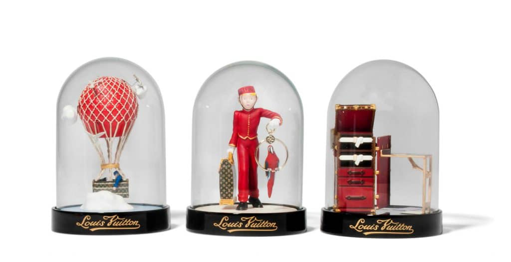 Louis Vuitton Snow Globe Trio